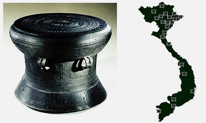 Tìm hiểu Ý NGHĨA những HÌNH VẼ trên mặt TRỐNG ĐỒNG NGỌC LŨ
