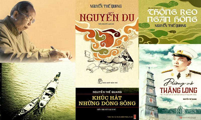 Nhà văn Nguyễn Thế Quang - vietnamhoc.net