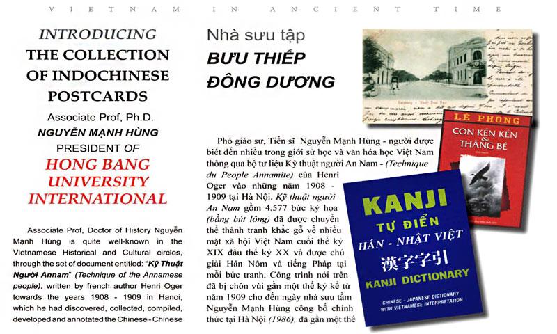 Lời tựa số 2: Nhà sưu tập BƯU THIẾP Đông Dương