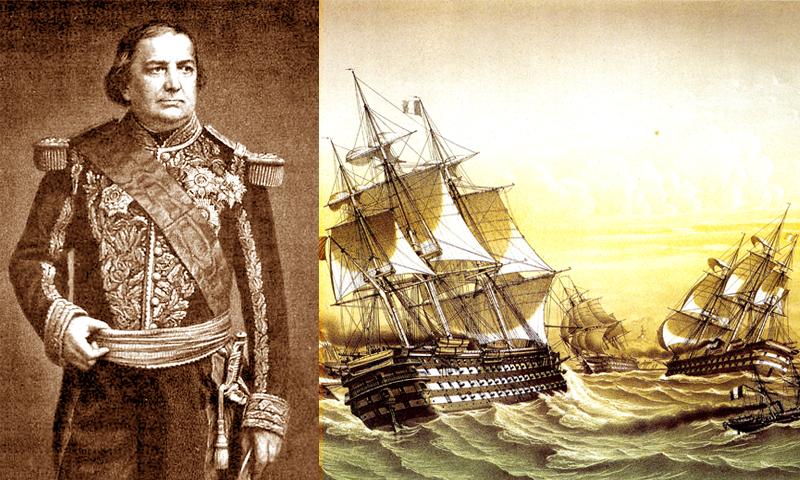 CHARLES RIGAULT DE GENOUILLY (1807-1873) – Bộ trưởng, Đô đốc hải quân Pháp
